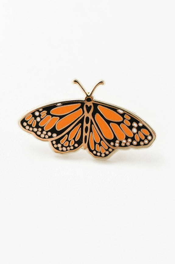 Monarch Enamel Pin