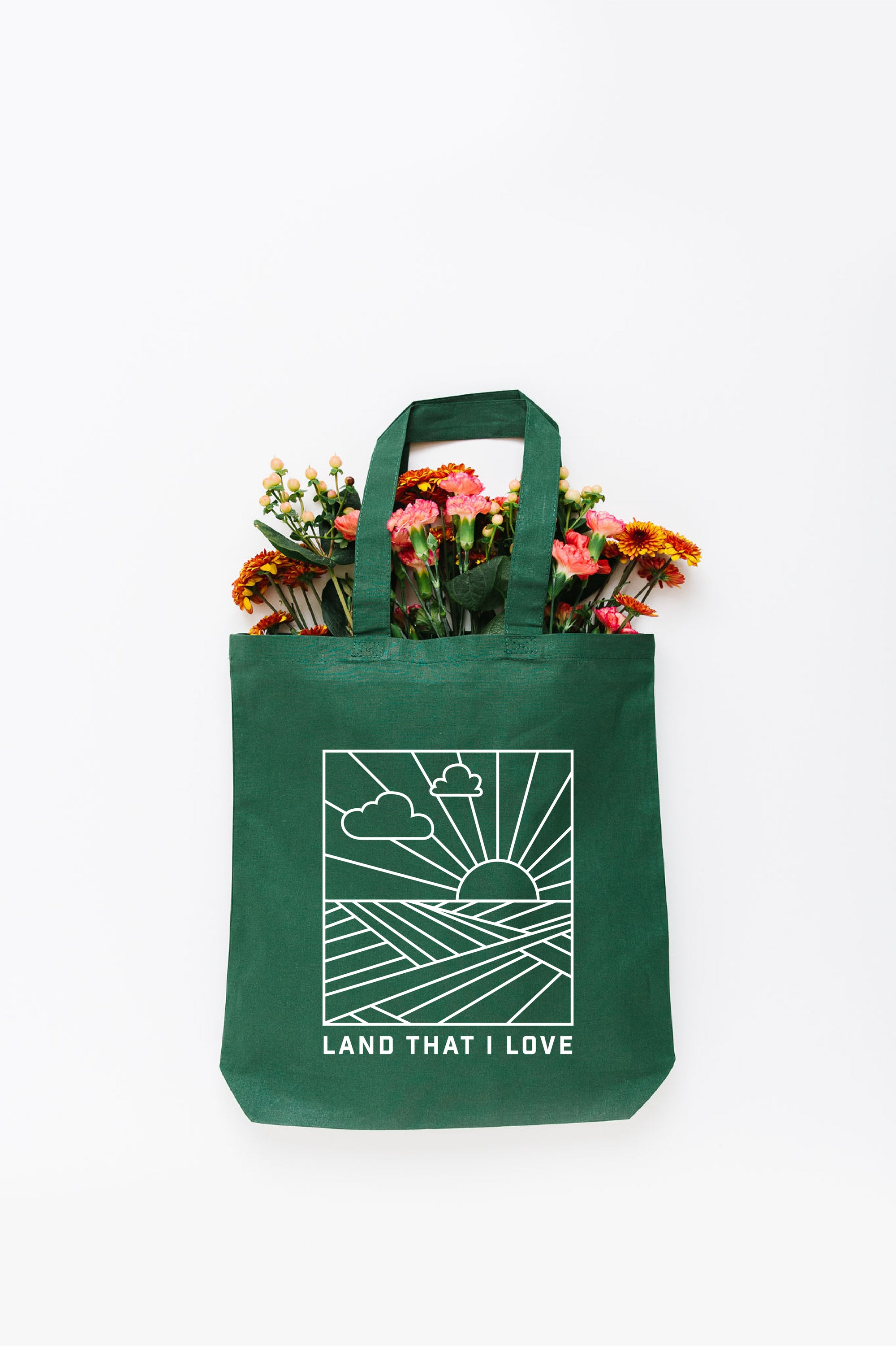 Land That I Love Tote Bag