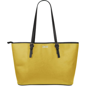 Large Leather Tote ~ Mustard