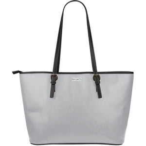 Large Leather Tote ~ Cloud