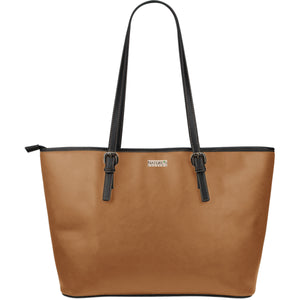 Large Leather Tote ~ Adobe