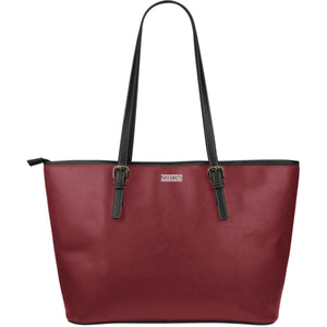 Large Leather Tote ~ Saffron