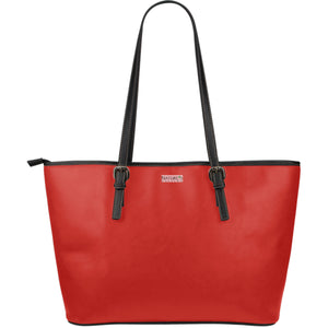 Large Leather Tote ~ Poppy