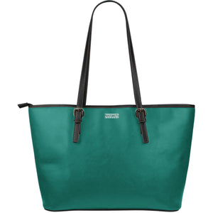 Large Leather Tote ~ Quetzal