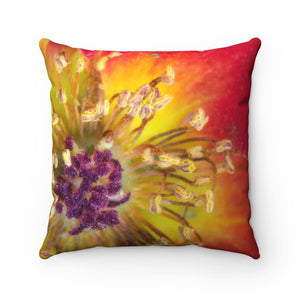 Joy Premium Spun Polyester Square Pillow ~ Living In Nature Collection