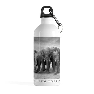"""Keep Them Together"" Special Edition Stainless Steel Water Bottle"