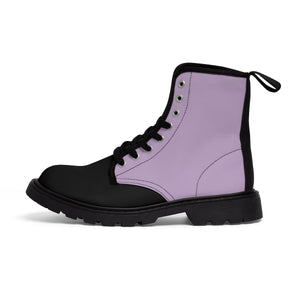 Orchid Women's Canvas Martin Boots