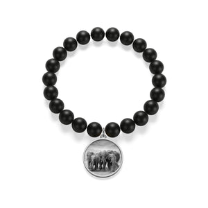 "Special Edition ""Keep Them Together"" Matte Onyx Bracelet"