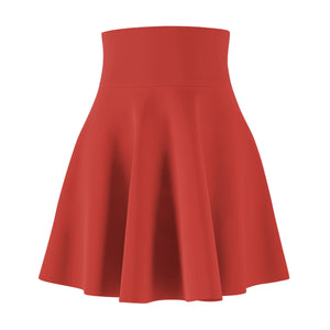 Women's Brushed Suede Swing Skirt ~ Poppy