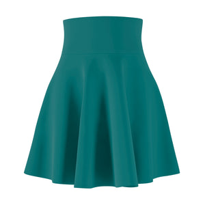 Women's Brushed Suede Swing Skirt ~ Quetral