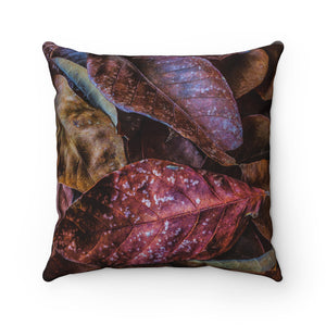 Palette Premium Spun Polyester Square Pillow ~ Living In Nature Collection