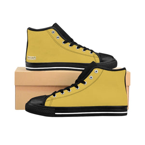 Mustard Men's High Tops