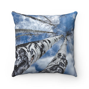 Breakthrough Premium Spun Polyester Square Pillow ~ Living In Nature Collection