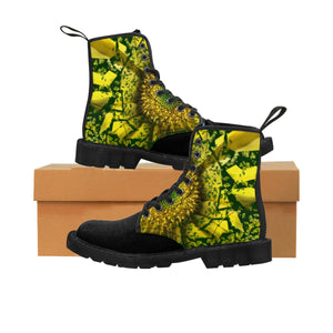 """Elation"" Women's Canvas Martin Boots"