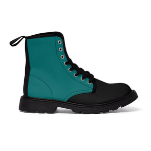 Quetzal Women's Canvas Martin Boots