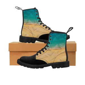 """Tranquility"" Women's Canvas Martin Boots"