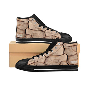 """The Stick In The Mud"" Men's High Tops"