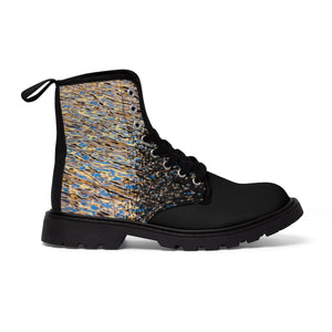 """Enchantment"" Women's Canvas Martin Boots"