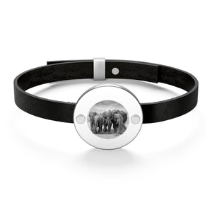 "Special Edition ""Keep Them Together"" Leather Bracelet"