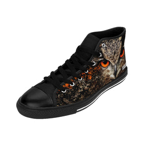 """The Vigilant Protector"" Men's High Tops"