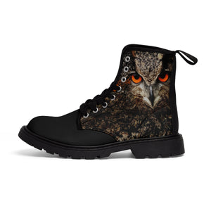 """The Vigilant Protector"" Men's Canvas Martin Boots"