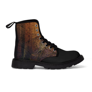 """The Mystery Man"" Men's Canvas Martin Boots"