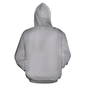 Zip Up Hoodie ~ Cloud