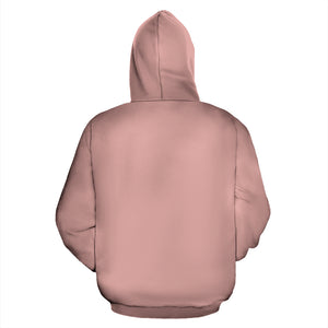Zip Up Hoodie ~ Rose