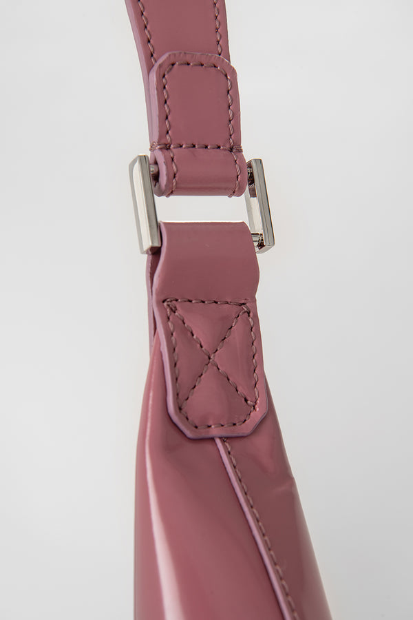 Amber Pink Semi Patent Leather
