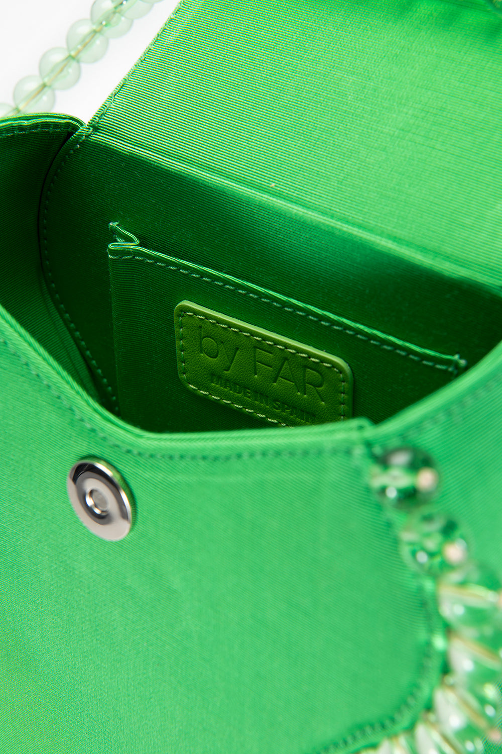 Frida Green Grosgrain