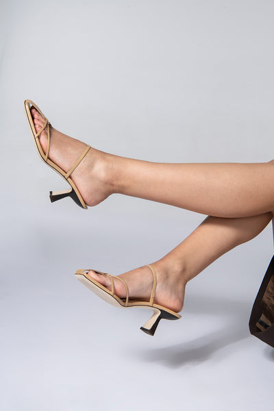 Edita Nude Leather
