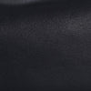 Micro Cush Black Flat Grain Leather