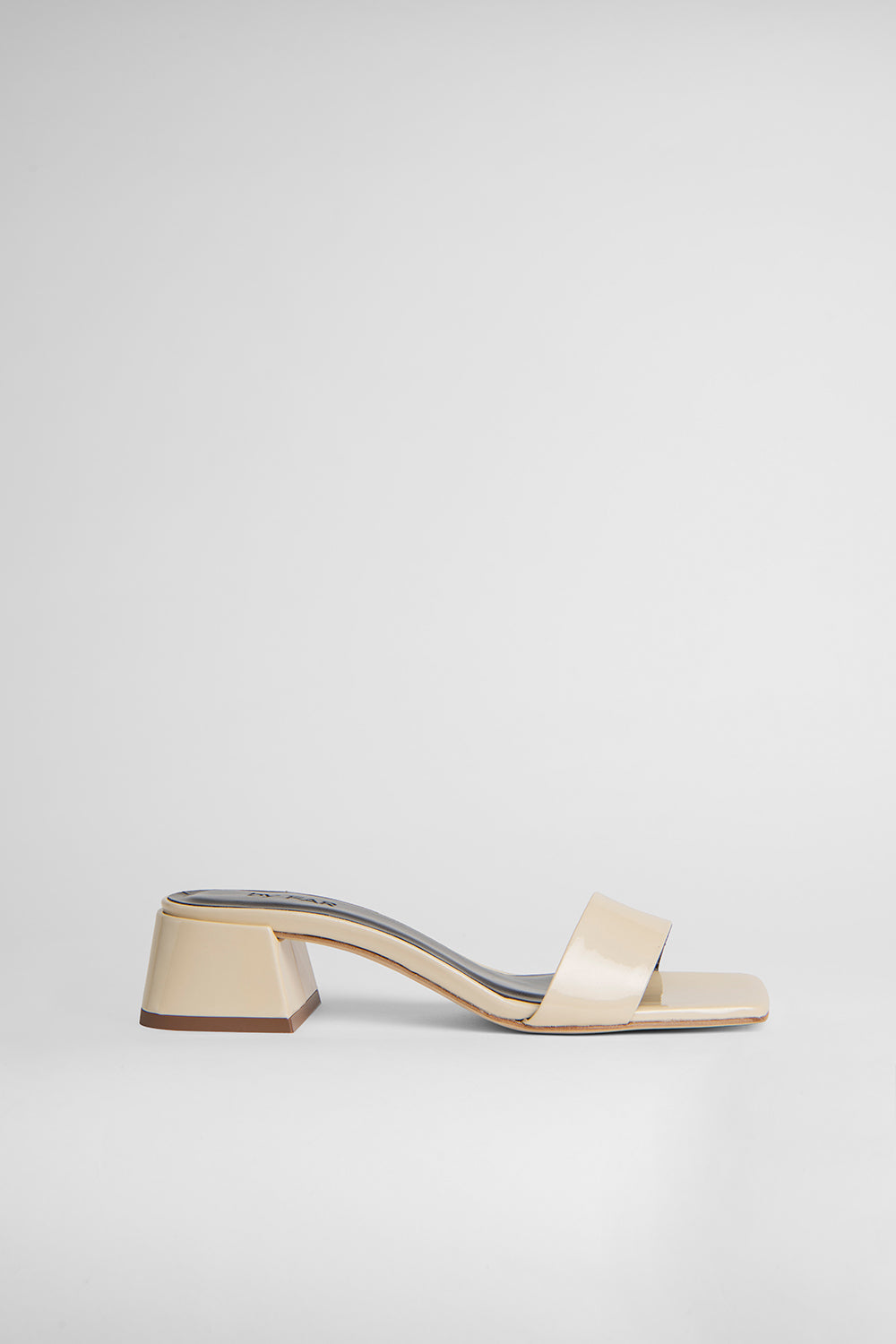 Courtney Cream Metallic Patent Leather