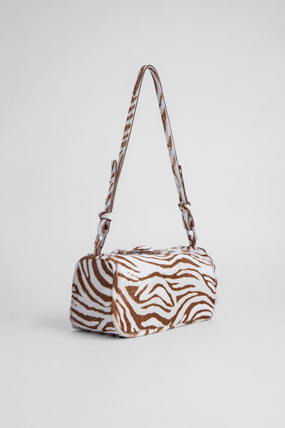 Eve Zebrina Beige Leather