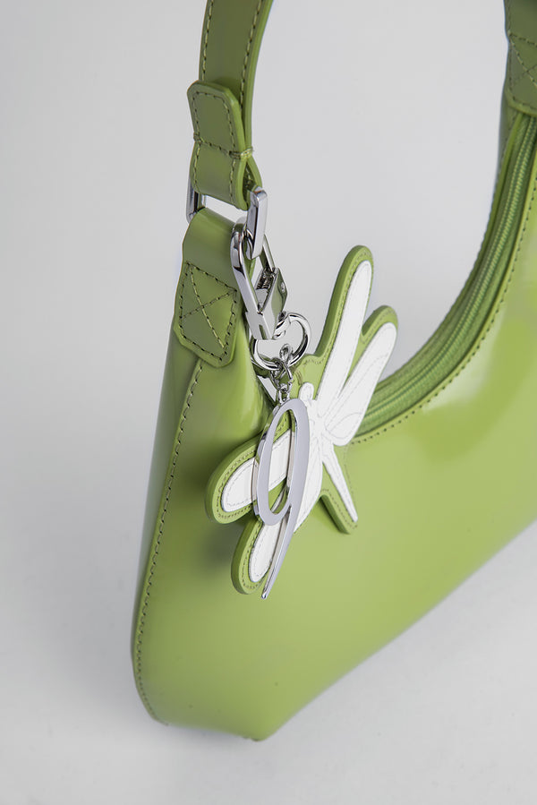 Neufmode Charm Melon Semi Patent Leather