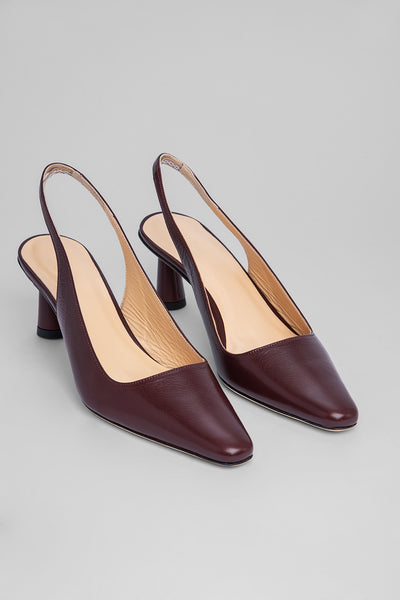 Diana Bordeaux Leather