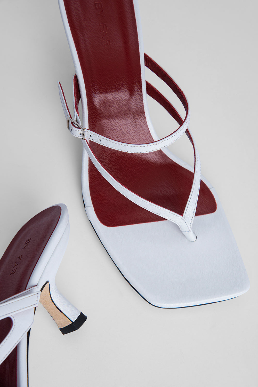 Desiree White Nappa Leather