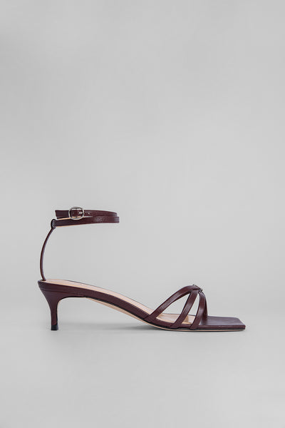 Kaia Bordeaux Leather