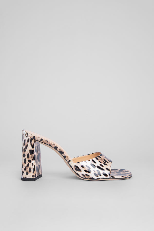 Juju Leopard Print Patent Leather