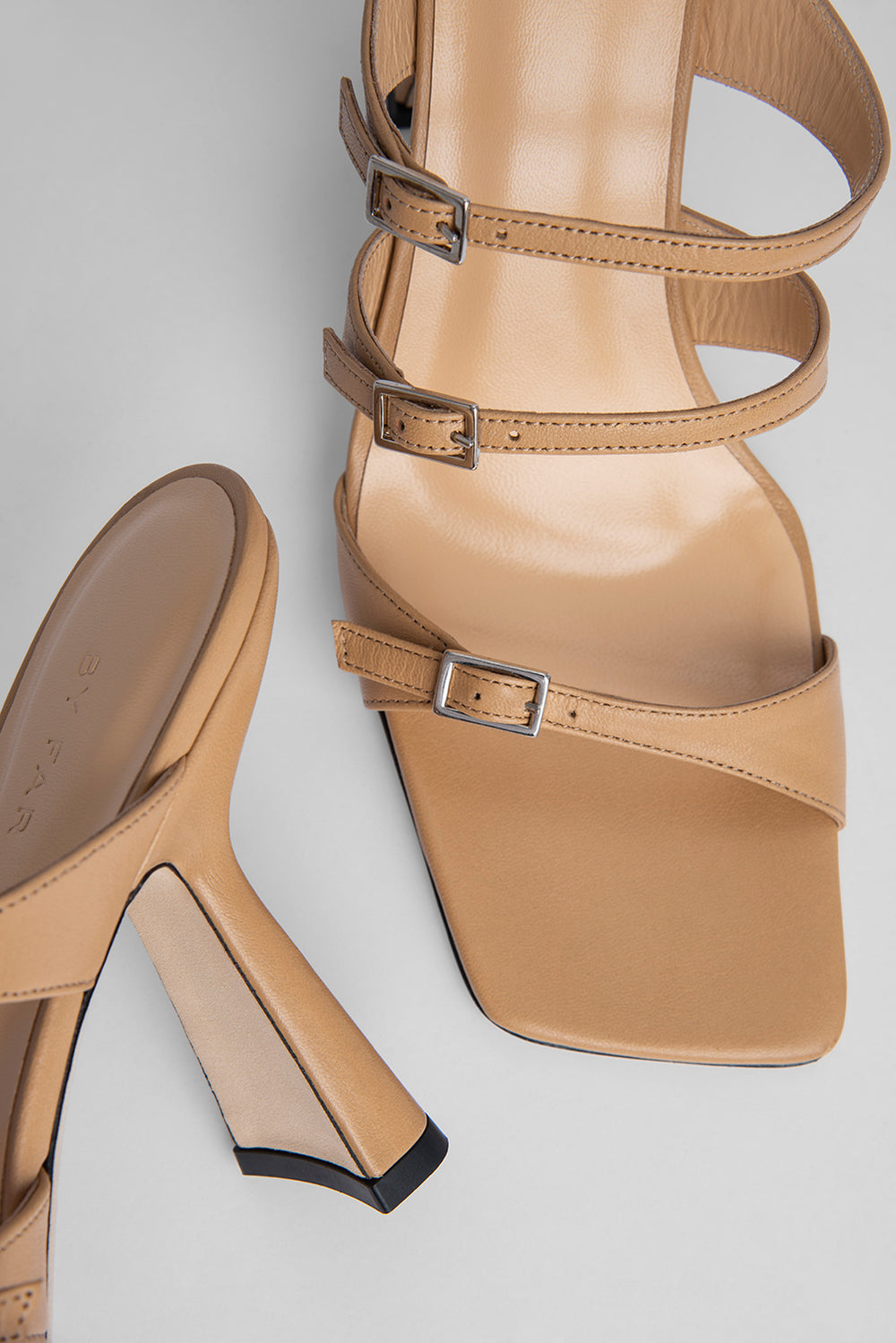 Malene Nude Leather