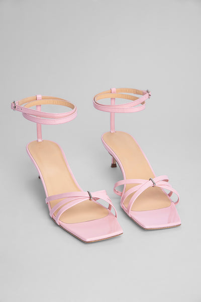 Kaia Pink Patent Leather