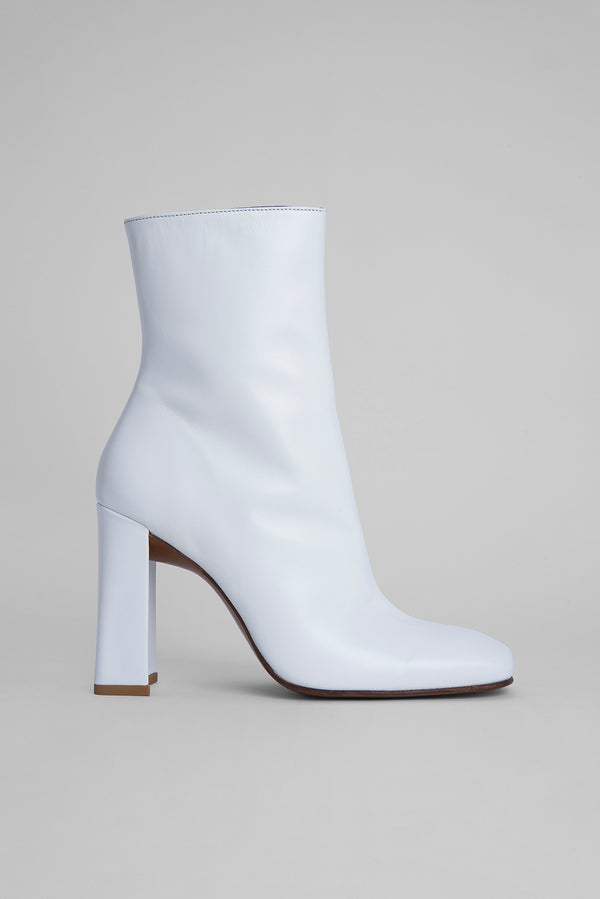 Elliot White Nappa Leather