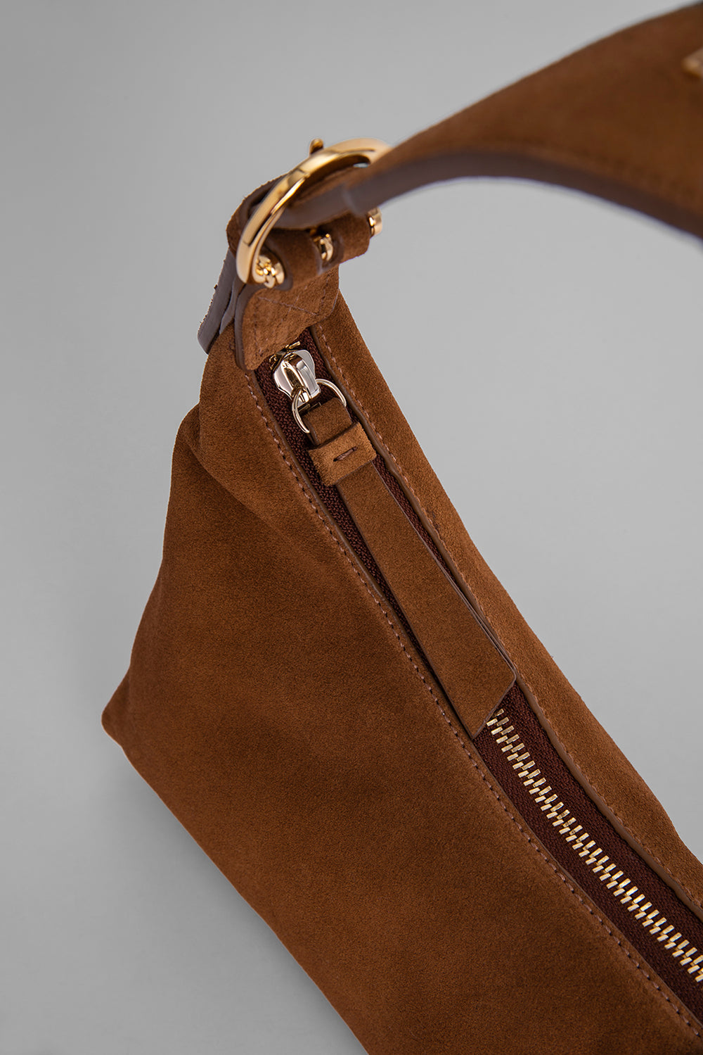 Mara Brown Suede Leather
