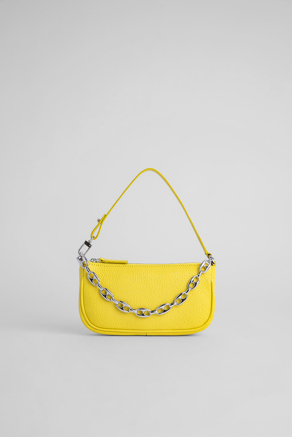 Mini Rachel Lemon Grained Leather
