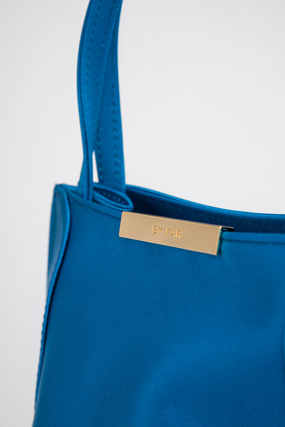 Charlotte Electric Blue Satin
