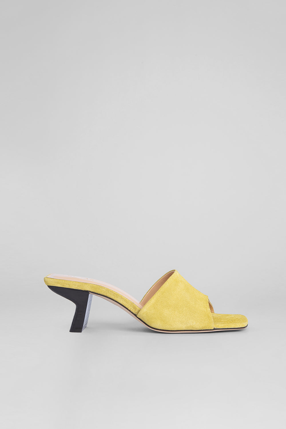 Lily LEMON Suede Leather