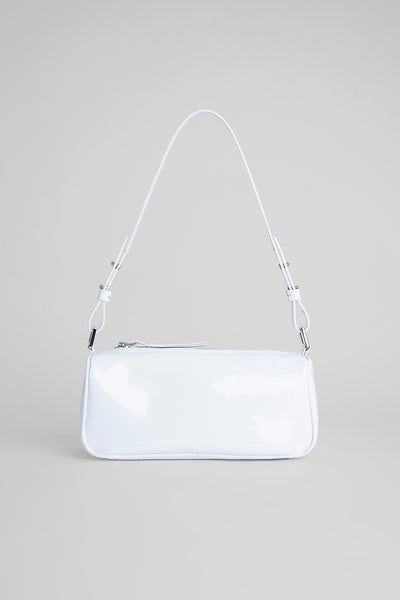 Eve White Patent Leather