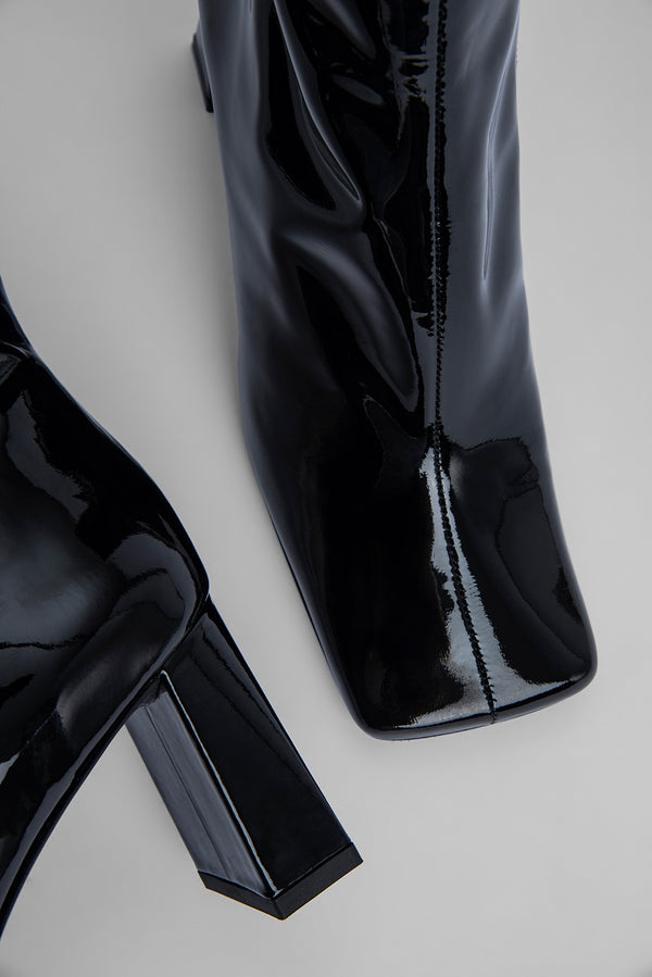 Celine Black Patent Leather