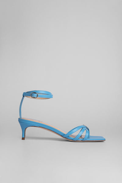 Kaia Baby Blue Leather