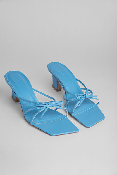 Marissa Baby Blue Leather